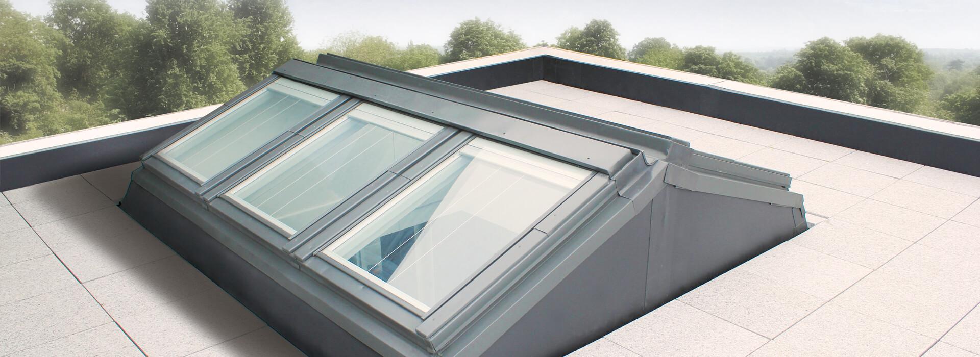 Sistema apex per tetti piani keylite roof windows - Finestre per tetti piani ...